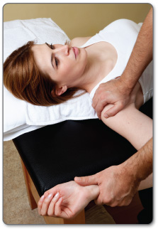You should never feel pain when exercising or stretching your rotator cuff.